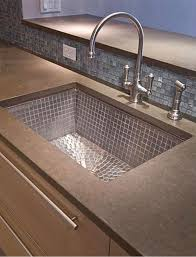 undermount kitchen sinks stainless steel. Linkasink Drop In Or Undermount Kitchen Sink Sn With Stainless Steel Mosaic Tile Interior - V031 Sinks A