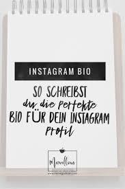 Instagram Bio So Schreibst Du Die Perfekte Bio Für Dein Profil