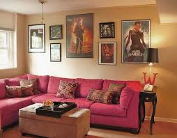 movie room furniture. stylish and fascinating movies room decor small movie design with pink sofa posters furniture
