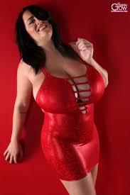 Big boobs tight shiny clothing