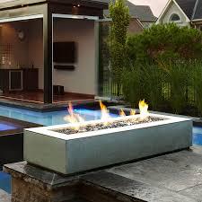 Modern Outdoor Fireplace Designs Enchanting Contemporary Outdoor Fireplace Designs Of Low
