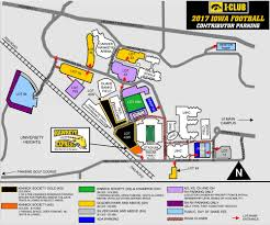 Map Of Kinnick Stadium Contributor Cut D1softball Net