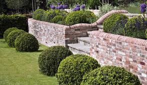 small brick wall designs front garden