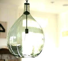 seeded glass light