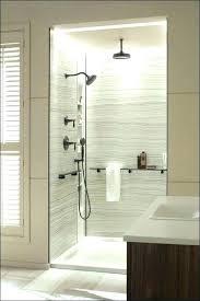solid surface shower surround enchanting kit bathroom marvelous wall panels walls subway tile sh