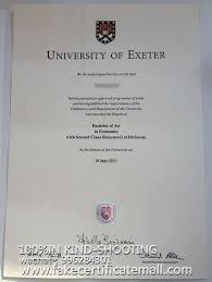 Sample Degree Certificates Of Universities Buy University Of Exeter Fake Degree Certificate Buy Diploma