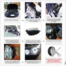 left transparent headlight lens shell cover fog light assembly for  at 04 Mercedes Benz Kompressor Sport Foglight Wire Harness