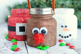 Mason Jar Decorating Ideas For Christmas Christmas Treat JarsCute Mason Jar Crafts for Kids Crazy Little 26