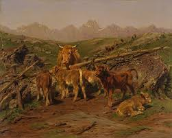 women artists in nineteenth century france   essay   heilbrunn    weaning the calves