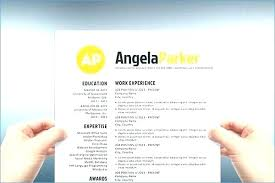 Creative Resume Templates For Microsoft Word Unique Beautiful Resume Templates Word Cool Free Creative Template Download