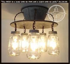 Image Pendant An Exclusive Lamp Goods Mason Jar Light 5light The Lamp Goods Mason Jar Light Fixtures Mason Jar Pendant Lights Mason Jar