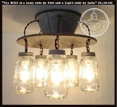 Image Jar Chandelier An Exclusive Lamp Goods Mason Jar Light 5light The Lamp Goods Mason Jar Light Fixtures Mason Jar Pendant Lights Mason Jar