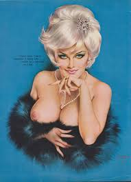 49 Mature Rare Early 60 s Vintage Vargas Pin Up Girl