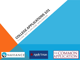 filling out applications college applications 101 filling out a college application ppt