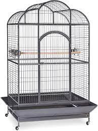 Amazon.com : Prevue Hendryx Silverado Macaw Dometop Cage 3155S Silverado  46-Inch by 36-Inch by 78-1/4-Inch : Macaw Bird Cage : Pet Supplies