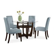 glass dining table chairs dinette