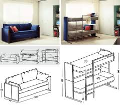 Lovely Stock Couch Bunk Bed Convertible Furniture Designs