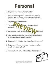 Are You Job And Interview Ready Self Assessment Quiz For Teens And Adults