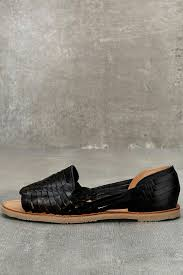 sbicca jared flats black huarache flats leather sandals leather flats 69 00