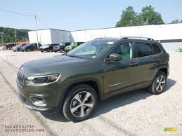 ron lewis dodge 2019 jeep cherokee limited 4x4 in olive green pearl