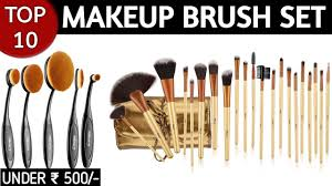 10 best makeup brush sets brands in india with