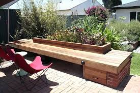 garden bench seats creative long brown wood garden bench seat near twin red modern chair and