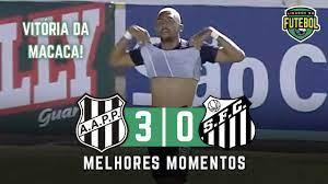 Ponte Preta 3 x 0 Santos   Melhores Momentos   Paulistão 16/04/2021 -  YouTube