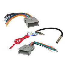 wire harness trailblazer ebay 2004 Chevy Trailblazer Stereo Wiring Harness gm car radio stereo wiring harness antenna combo for 1992 up chevy gmc pontiac ( 2004 chevy trailblazer radio wiring diagram