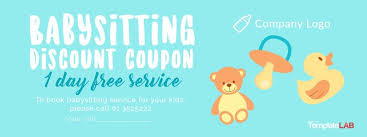 Printable Babysitting Coupon Magdalene Project Org