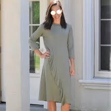 Maya S Place Aria Ruffle Dress Nwt