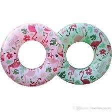2019 Inflatable Flamingo Swim Ring Pool Float Inflatable Children ...