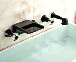 wall mounted bathtub faucets wall mounted bath faucets image of wall mount bathtub faucet with shower