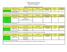Professional Calendar Template Professional Development Calendar Template