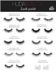 Fake Eyelash Size Chart The 10 Best Fake Eyelashes Brands To Know About Fake
