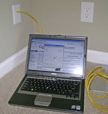 how to install an ethernet jack for a home network verifying 100mbps lan data rate for the new ethernet jack