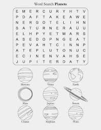 Printable Search Solar Planets Name Worksheet | Worksheets ...