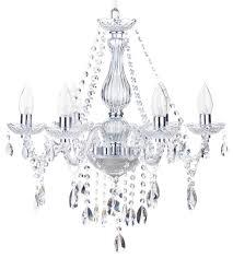 laine 6 light bathroom chandelier chrome