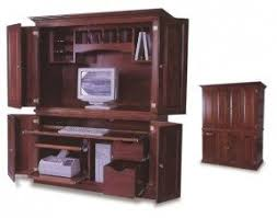 Small computer armoire Computer Cabinet Small Computer Armoire Foter Computer Armoires Hutches Ideas On Foter