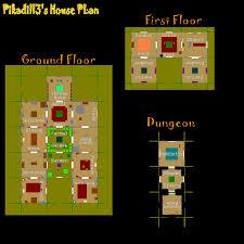 house plan runescape inspirational house layout runescape 2007 old 2007 runescape efficient house