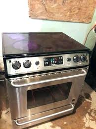 frigidaire flat top stoves stainless steel glass top stove gallery stainless steel glass top stove stainless