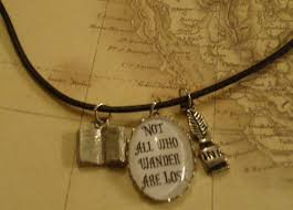 letterboxing with charm necklace
