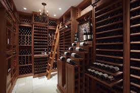 cus wine room mmade rage cellar stand rack humidity control warehouse wood and iron rooms houses