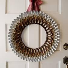 A Unique Fun Fall Spoon Wreath