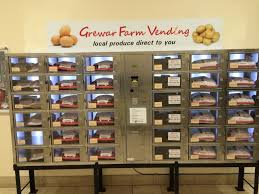 Healthy Vending Machines South Africa Beauteous Vegetable Vending Machine Unveiled In UK Shopping Centre