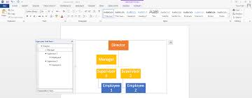 Smart Chart Word Create A Simple Org Chart In Microsoft Word And Display In