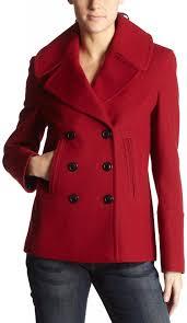 best red dress coat double brested red wool coat fleet street hip length