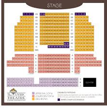 65 Timeless New Theatre Seating Chart