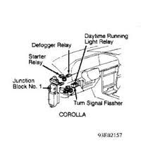1992 toyota corolla engine sometimes start and not start repair wiring as required 2carpros com forum automotive pictures 62217 relay 3