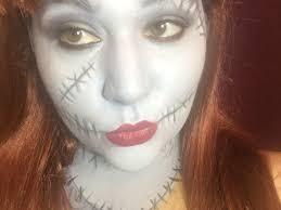 nightmare before makeup sally makeup nightmare before makeup