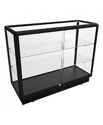 ctgl 1200 full glass counter display cabinet fully assembled